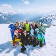29.03.2017, Skizentrum Hochzillertal, Kaltenbach, AUT, JumpandReach Skitag. EXPA Pictures © 2017, PhotoCredit: EXPA/ JFK